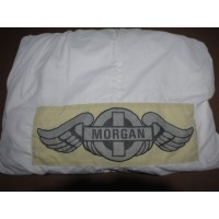 AC007	INDOOR CAR COVER WHITE 2STR WITH WINGS +4 +8 & ROADSTER