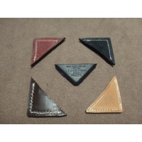 AB008	LEATHER BONNET CORNER D.BROWN
