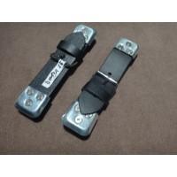 B0014ALEATHER STRAPS BLACK BONNET/STONE GUARD