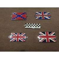 A0149	UNION JACK ENAMEL BADGE BOLD ON