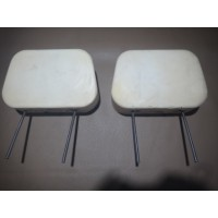 T0148D	HEADREST 2 pin WITHOUT TRIM