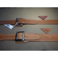 AB003	LEATHER BONNET STRAP D. BROWN - L. BROWN - BLACK - BURGUNDY