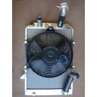 RD006D	RADIATOR  ALU + FAN + FITTINGS  +8