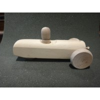 A0299W   WOODEN THREE WHEELER