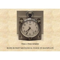IR189G Budget Mechanical  Clock on Backplate