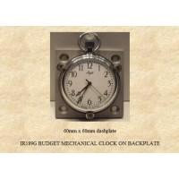 IR189G Budget Mechanical  Clock on Backplate