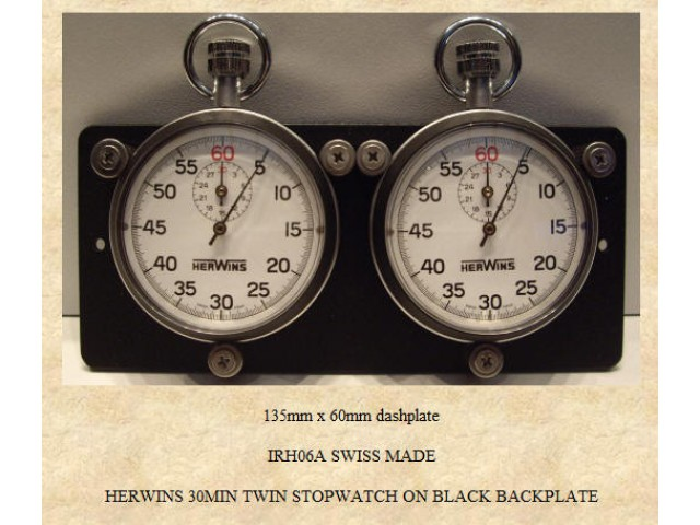 HERWINS 30 min twin stopwatch