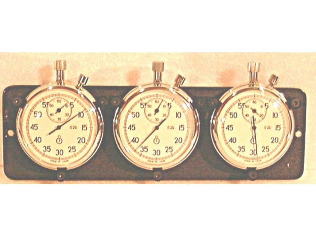 Budget Price Triple Stopwatch Set