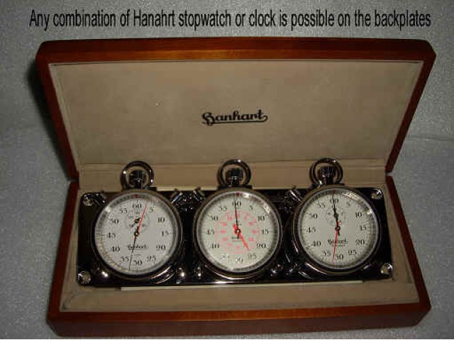 HANHART  ANY COMBINATION OF CLOCK & STOPWATCHES IS POSSIBLE