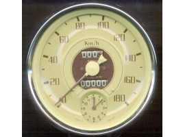 I0080 Speedometer Cream Face Instrument