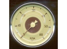 I0080B RPM Meter Cream Face Instrument