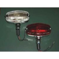 EL044A EL044B REPLICA LUCAS REAR FOG & REVERSE LAMPS  GLASS LENS