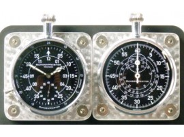 IR180 DASHBOARD CLOCKS AS A SET WITH BACKPLATE IR180 + IR180A