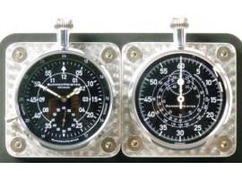 IR180 DASHBOARD CLOCKS AS A SET WITH BACKPLATE IR180 + IR180A