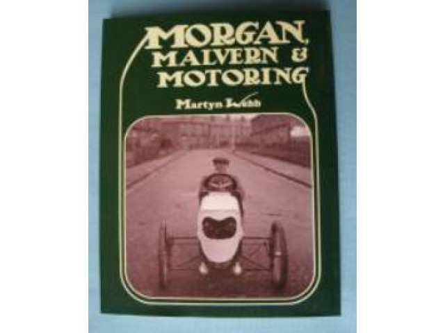 A0229N BOOK MORGAN MALVERN & MOTORING