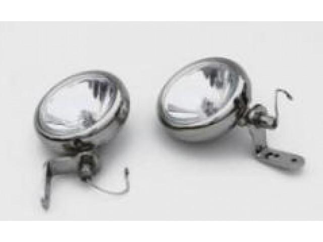 EL014G MINI DRIVING LAMP PAIR  + BS027 SPOT LIGHT BRACKET SET