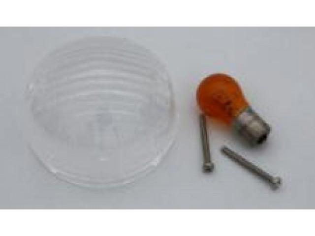 EL020C ONE CLEAR LENS + REFLECTOR KIT FRONT + ORANGE BULB