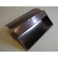 V0550 COWL BOX AIR DEFLECTOR S.STEEL +4 & +8