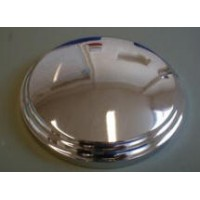 "B0098 15"" DISC WHEEL CHROME HUB CAP"