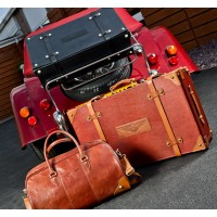 AB099	MORGAN SUIT CASE BROWN