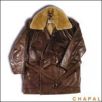 A0960 Chapal model 1914 ete cotton inside. sheepskin collar removable.