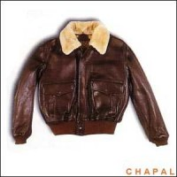 A0950 Chapal Model Bsaaf Brown  Sheepskin Collar Removable