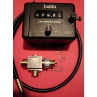 IR102	HALDA TRIPMASTER ALU CASE & fitting kit