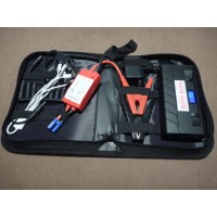 AC143	12V JUMP STARTER 13,600MAH BATTERY ALSO POWER SUPPLY FOR UBS LAPTOPS & MOBILE PHONES and RALLY INSTRUMENTS