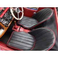 T0155A	BUCKET SEAT BLACK LEATHER S.SPORTS  PAIR