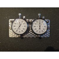 IR190E	TWIN BUDGET STOPWATCH ON TURNED LOOK BACKPLATE