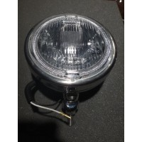 "EL062	PAIR 6"" DRIVING LIGHTS 100W  S.STEEL"