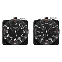 IR174A	SWISS MADE DASHBOARD RALLLY CLOCK QUARTZ