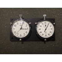 IR189X	49MM CLOCK AND STOPWATCH ON BACKPLATE